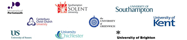 Logos of all the Universities involved in the project